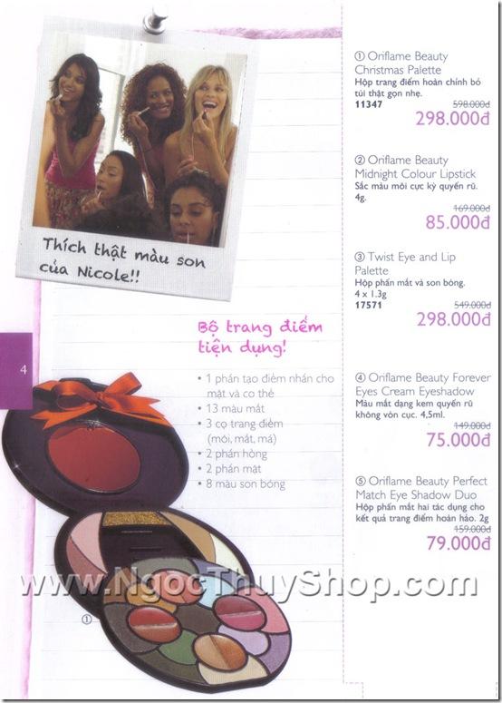 Oriflame Khuyen Mai 8.2010 - Trang 4