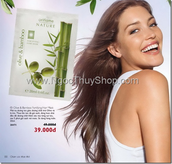 Olive & Bamboo Fortifying Hair Mask - 20471
