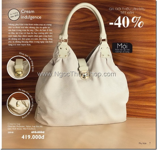 Oriflame Creamy Bag - 20949
