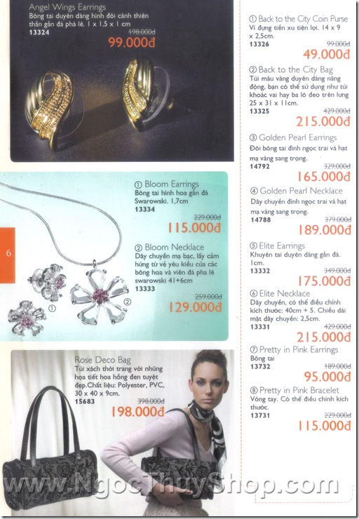 Oriflame Khuyen Mai Dac Biet 9.2010 - Trang 6