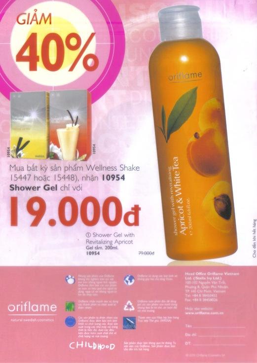 Oriflame Khuyen Mai Dac Biet 10.2010 - Trang 12