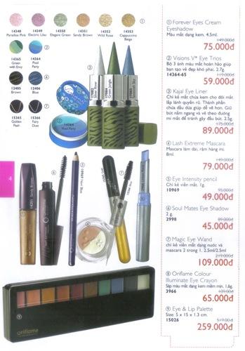 Oriflame Khuyen Mai Dac Biet 10.2010 - Trang 4