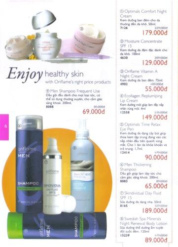 Oriflame Khuyen Mai Dac Biet 10.2010 - Trang 6
