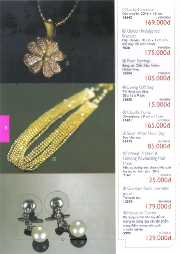 Oriflame Khuyen Mai Dac Biet 10.2010 - Trang 8