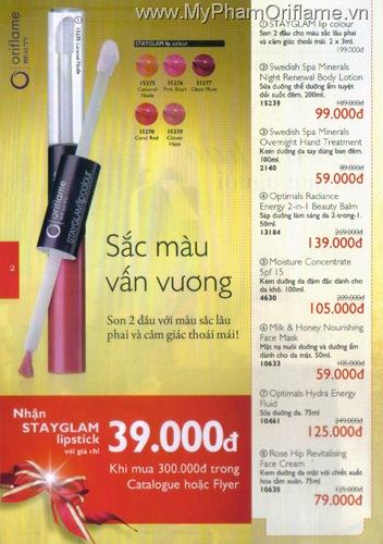 Oriflame Khuyen Mai Dac Biet 12.2010 - Trang 02