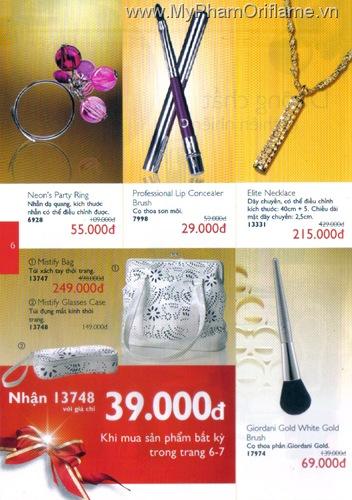 Oriflame Khuyen Mai Dac Biet 12.2010 - Trang 06