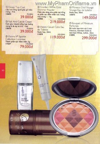 Oriflame Khuyen Mai Dac Biet 12.2010 - Trang 10
