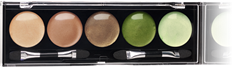 Bộ phấn mắt trang điểm Oriflame Pure Colour Eye Shadow Palette 18346 - Greens and Browns