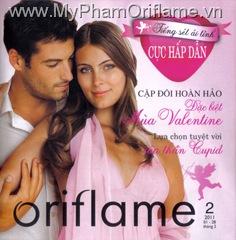 Catalog mỹ phẩm Oriflame tháng 2/2011