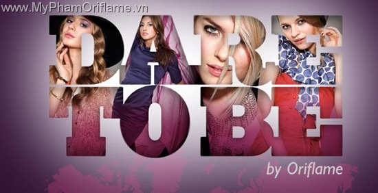 Oriflame Dare To Be - Logo