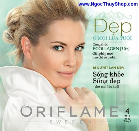 1 l thumb Catalogue Oriflame tháng 4/2011  MyPhamOriflame.vn