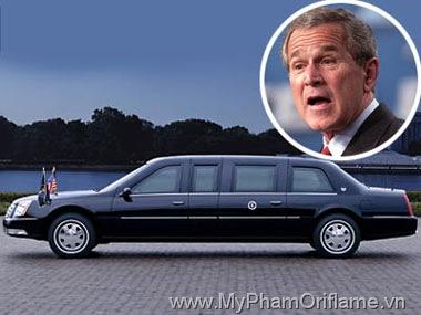 Cadillac Limousine của Bush