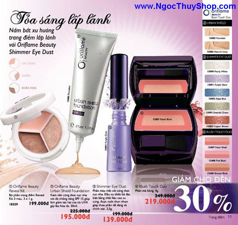 catalogue oriflame 6 2011 11 Catalogue Oriflame tháng 6/2011 – MyPhamOriflame.vn