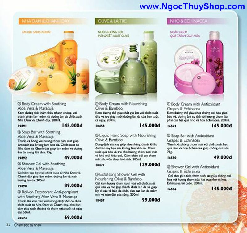 catalogue oriflame 6 2011 22 Catalogue Oriflame tháng 6/2011 – MyPhamOriflame.vn