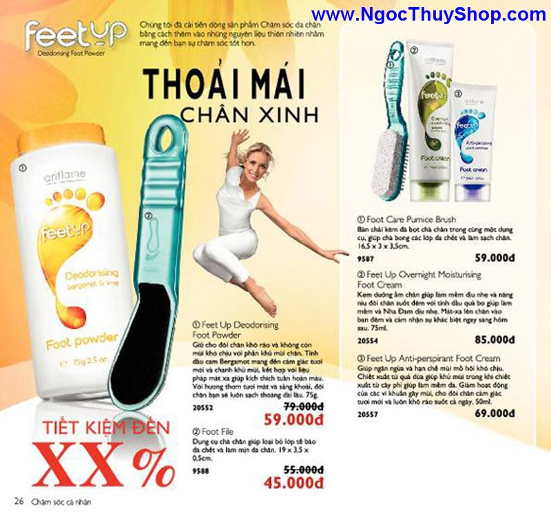 catalogue oriflame 6 2011 26 Catalogue Oriflame tháng 6/2011 – MyPhamOriflame.vn