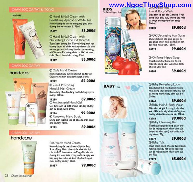 catalogue oriflame 6 2011 28 Catalogue Oriflame tháng 6/2011 – MyPhamOriflame.vn