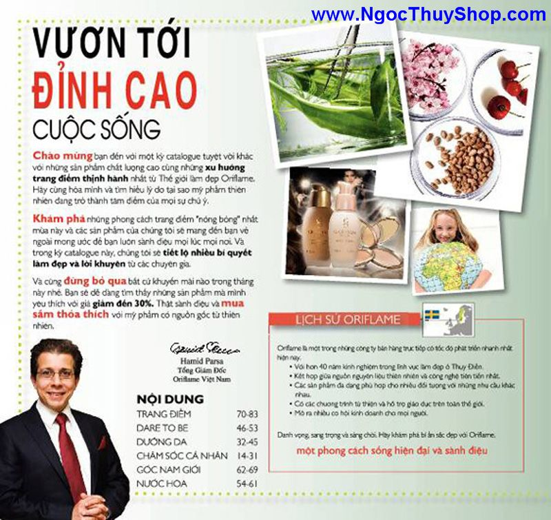 catalogue oriflame 6 2011 4 Catalogue Oriflame tháng 6/2011 – MyPhamOriflame.vn