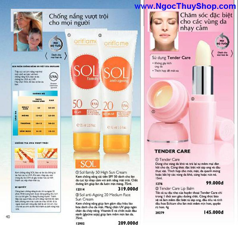 catalogue oriflame 6 2011 40 Catalogue Oriflame tháng 6/2011 – MyPhamOriflame.vn