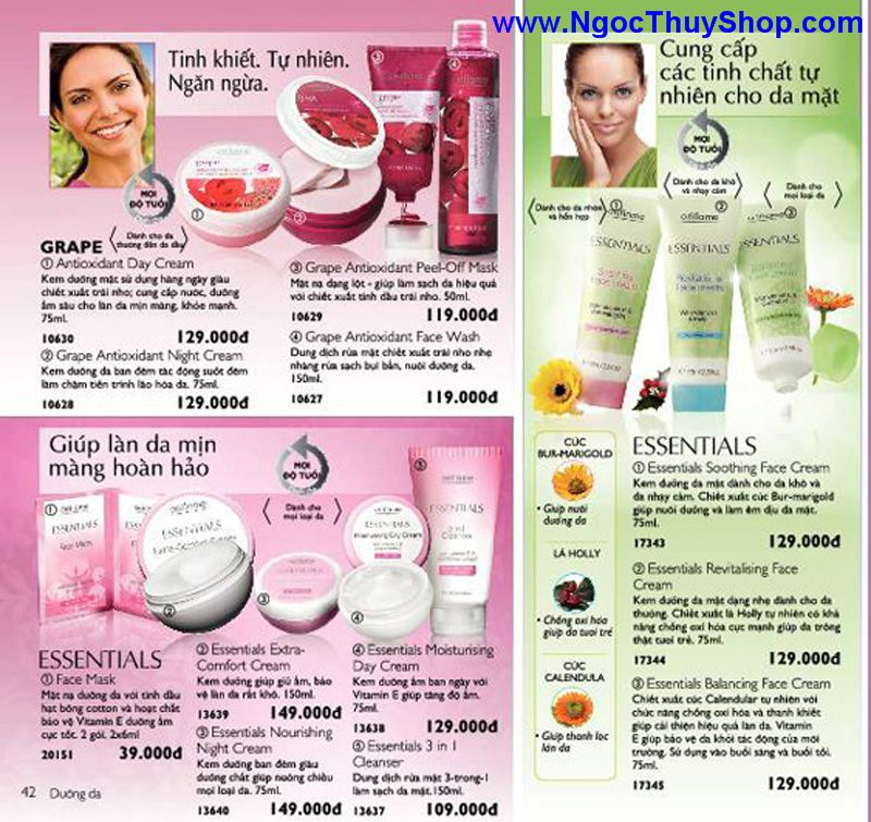 catalogue oriflame 6 2011 42 Catalogue Oriflame tháng 6/2011 – MyPhamOriflame.vn