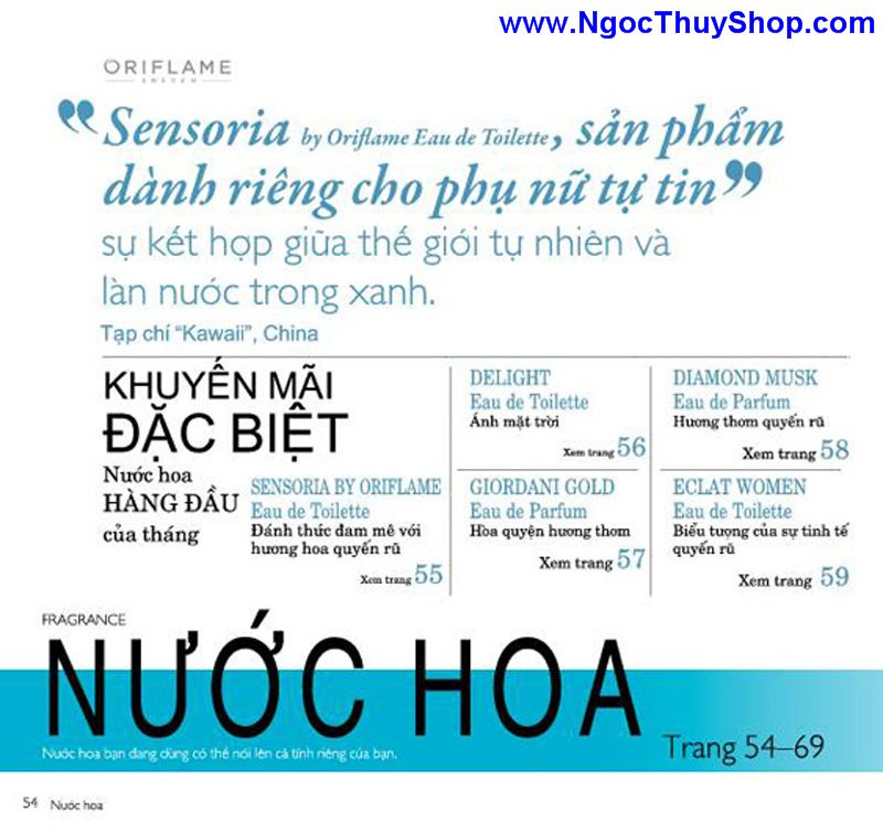 catalogue oriflame 6 2011 54 Catalogue Oriflame tháng 6/2011 – MyPhamOriflame.vn