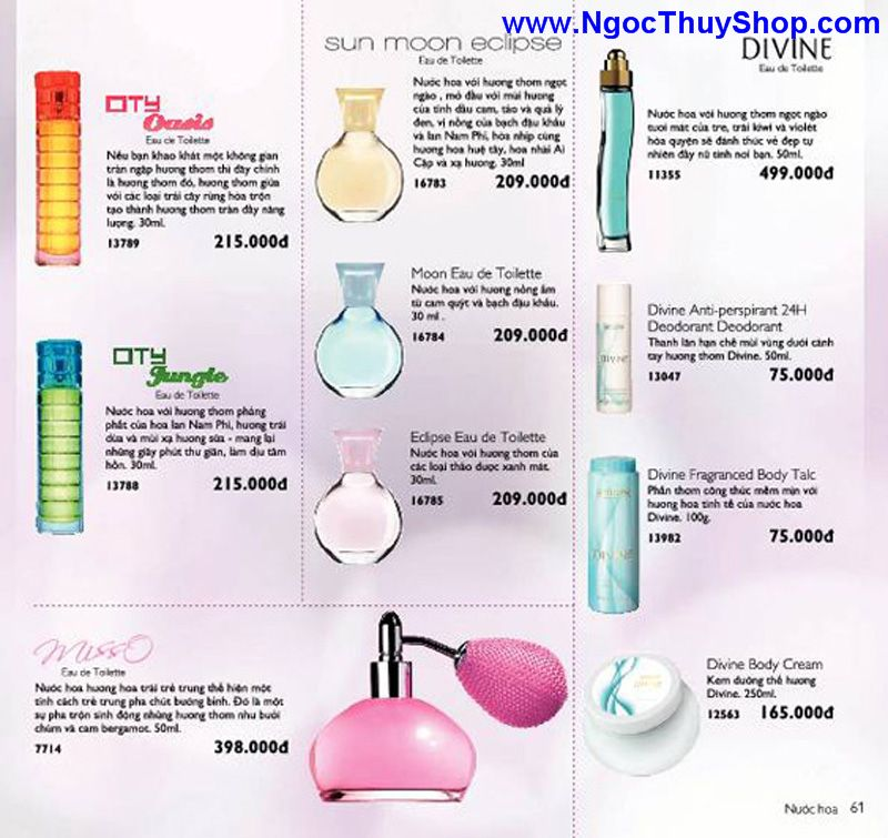 catalogue oriflame 6 2011 61 Catalogue Oriflame tháng 6/2011 – MyPhamOriflame.vn