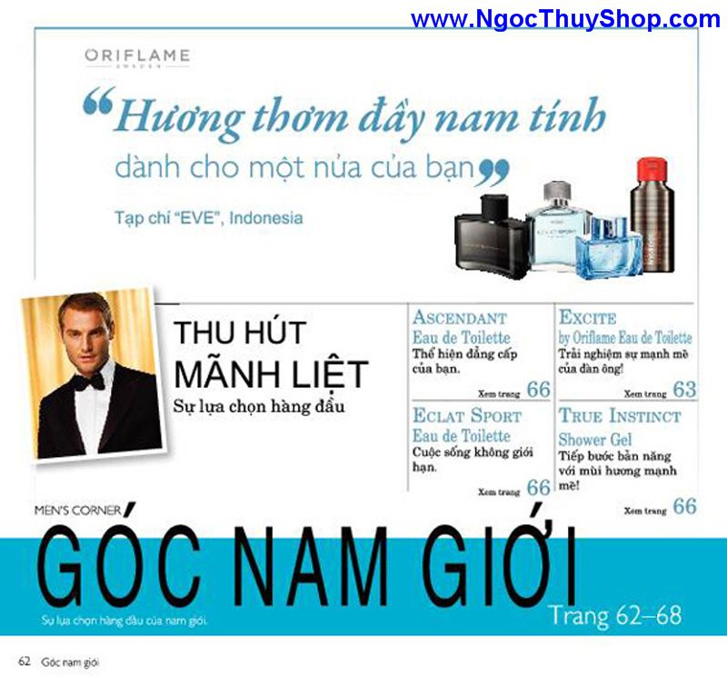 catalogue oriflame 6 2011 62 Catalogue Oriflame tháng 6/2011 – MyPhamOriflame.vn