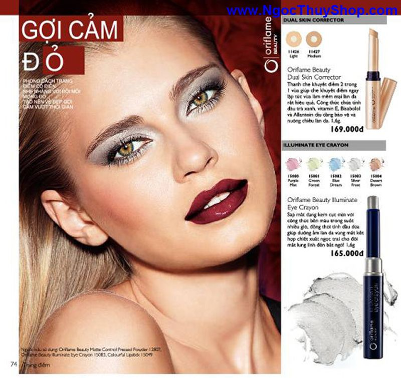 catalogue oriflame 6 2011 74 Catalogue Oriflame tháng 6/2011 – MyPhamOriflame.vn