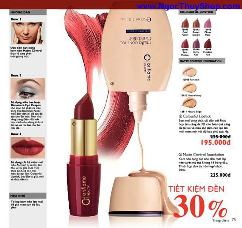 catalogue oriflame 6 2011 75 Catalogue Oriflame tháng 6/2011 – MyPhamOriflame.vn