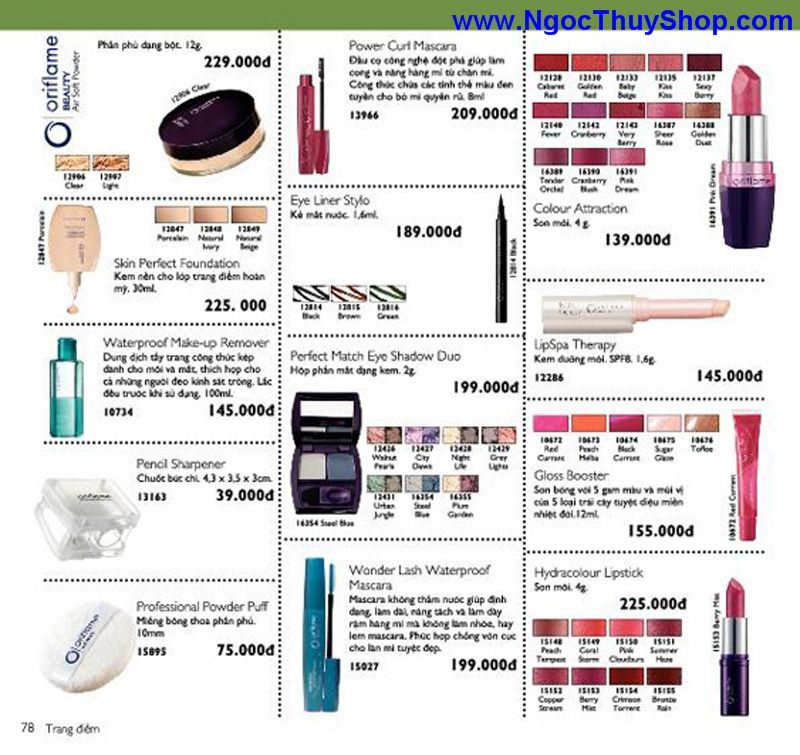 catalogue oriflame 6 2011 78 Catalogue Oriflame tháng 6/2011 – MyPhamOriflame.vn