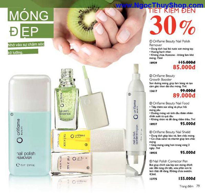 catalogue oriflame 6 2011 79 Catalogue Oriflame tháng 6/2011 – MyPhamOriflame.vn