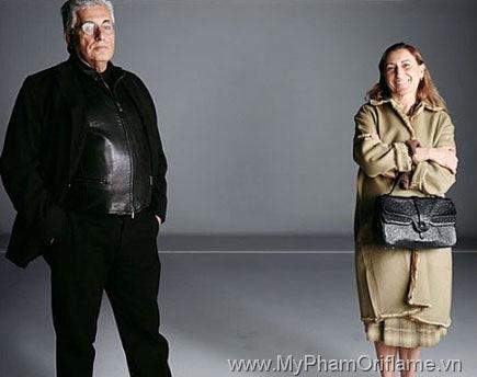 Miuccia Prada và Patrizio Bertelli