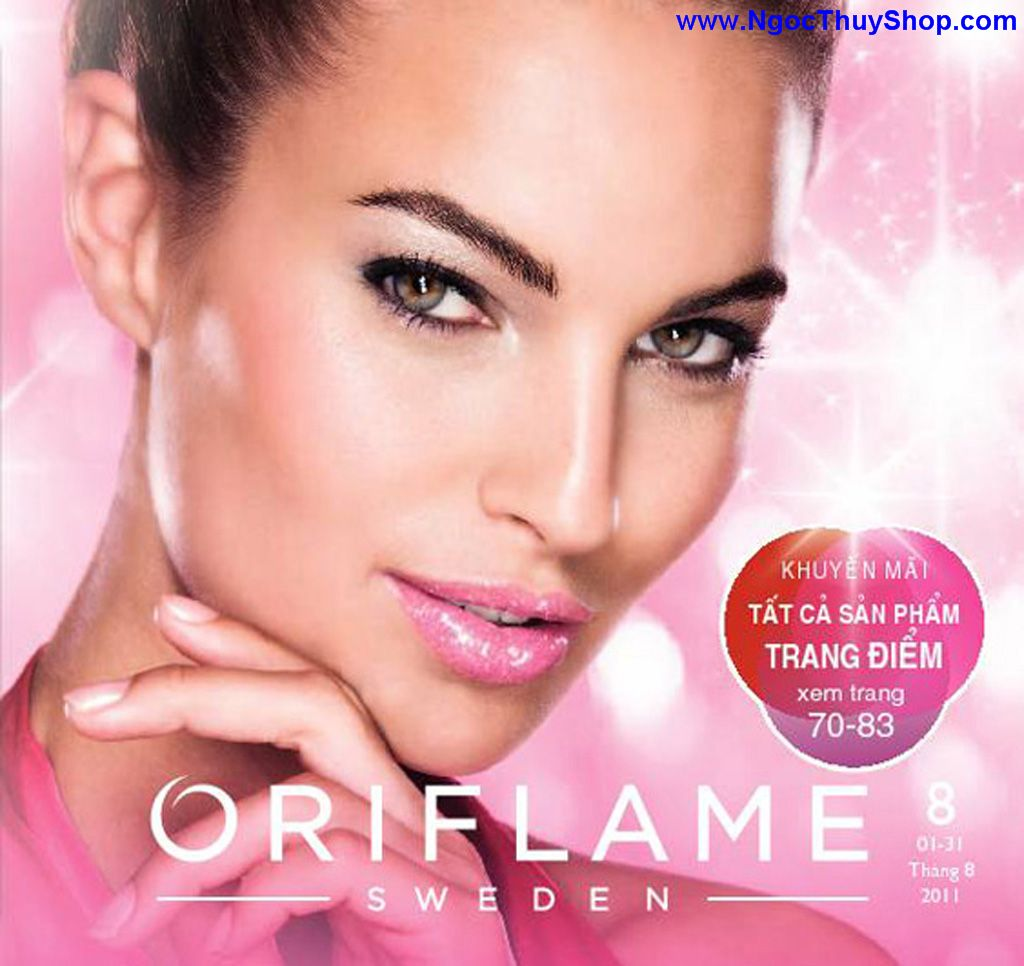 catalogue my pham oriflame 8 2011 001 Catalogue Oriflame tháng 8/2011 – MyPhamOriflame.vn