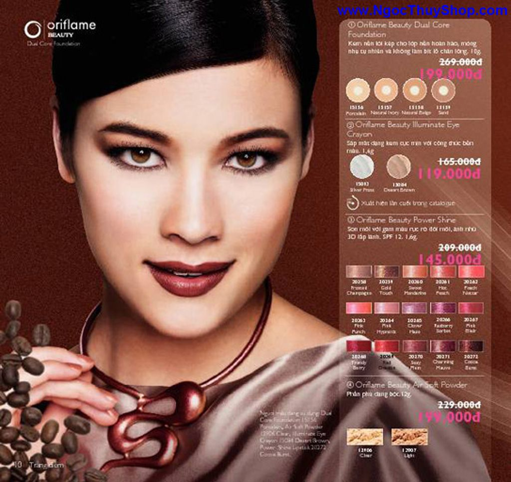 catalogue my pham oriflame 8 2011 010 Catalogue Oriflame tháng 8/2011 – MyPhamOriflame.vn