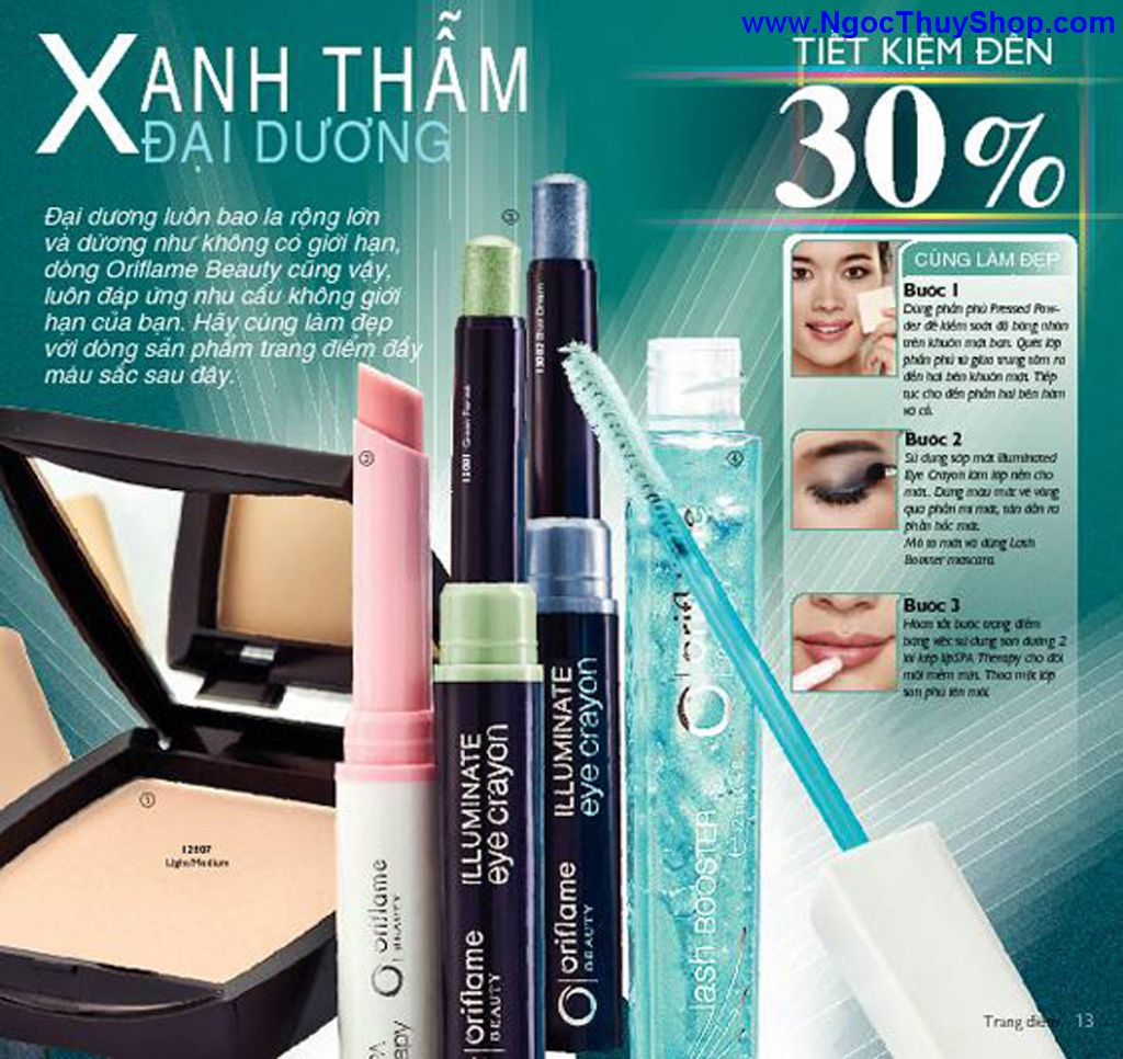 catalogue my pham oriflame 8 2011 013 Catalogue Oriflame tháng 8/2011 – MyPhamOriflame.vn