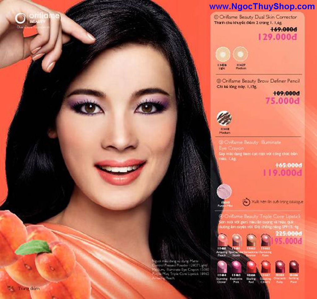 catalogue my pham oriflame 8 2011 014 Catalogue Oriflame tháng 8/2011 – MyPhamOriflame.vn