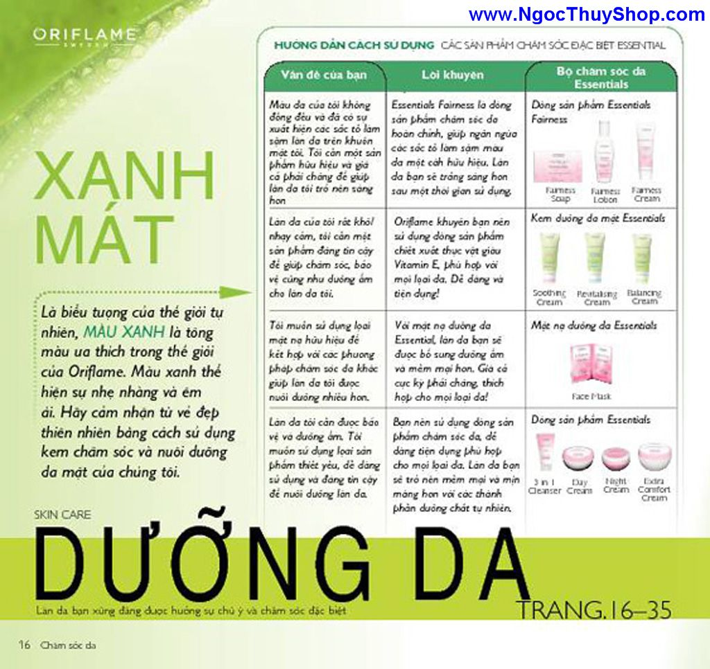 catalogue my pham oriflame 8 2011 016 Catalogue Oriflame tháng 8/2011 – MyPhamOriflame.vn