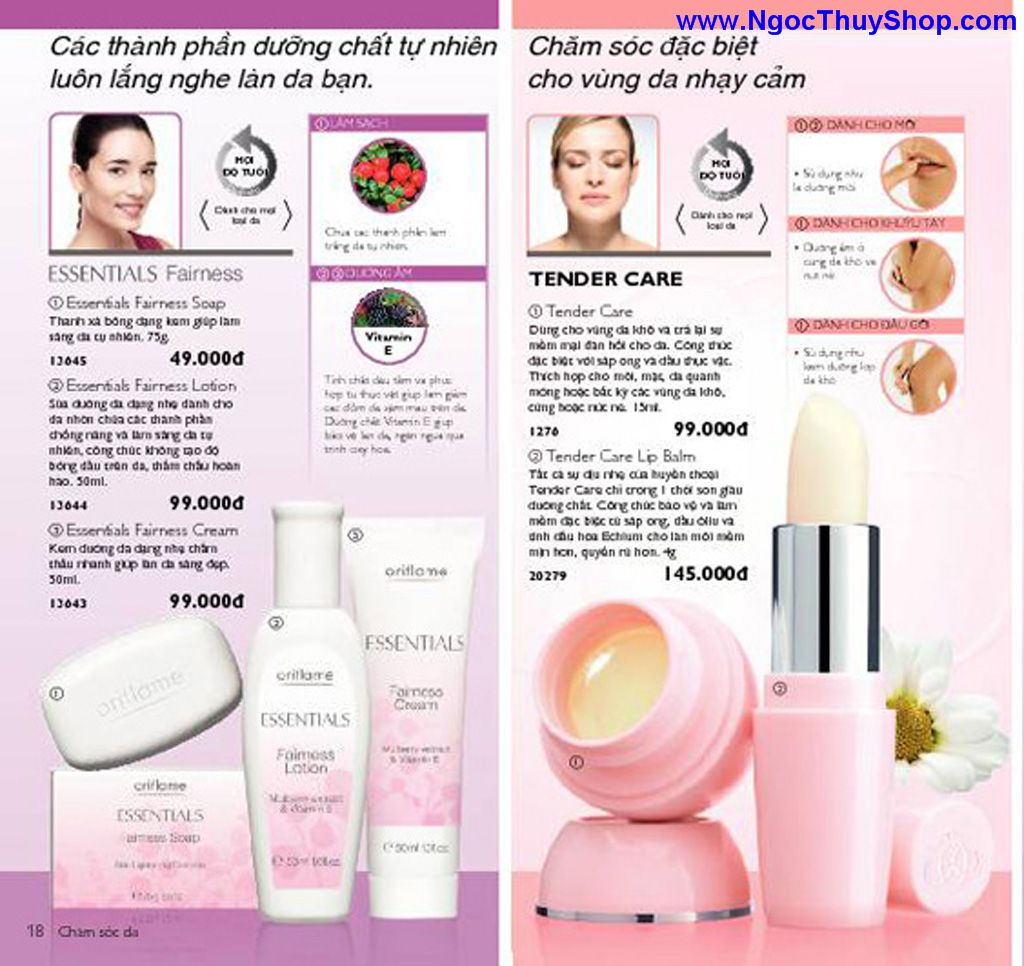 catalogue my pham oriflame 8 2011 018 Catalogue Oriflame tháng 8/2011 – MyPhamOriflame.vn