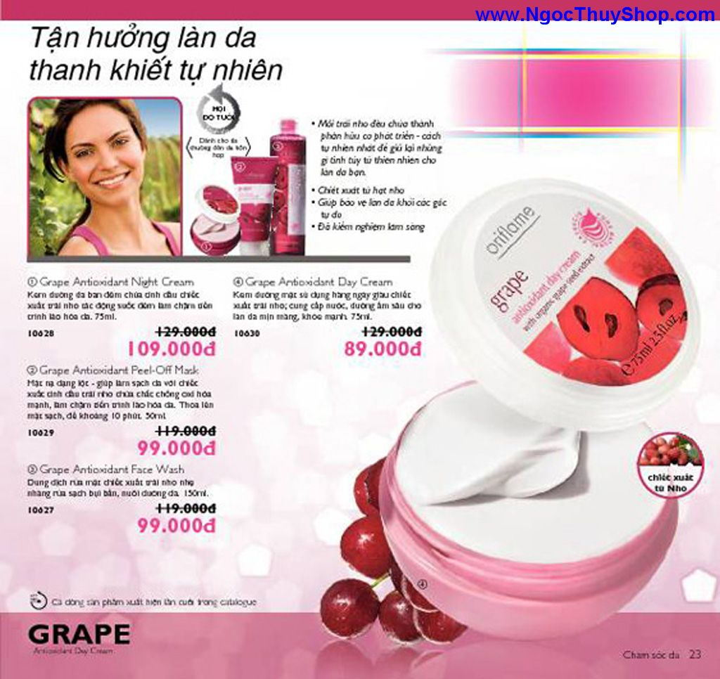 catalogue my pham oriflame 8 2011 023 Catalogue Oriflame tháng 8/2011 – MyPhamOriflame.vn