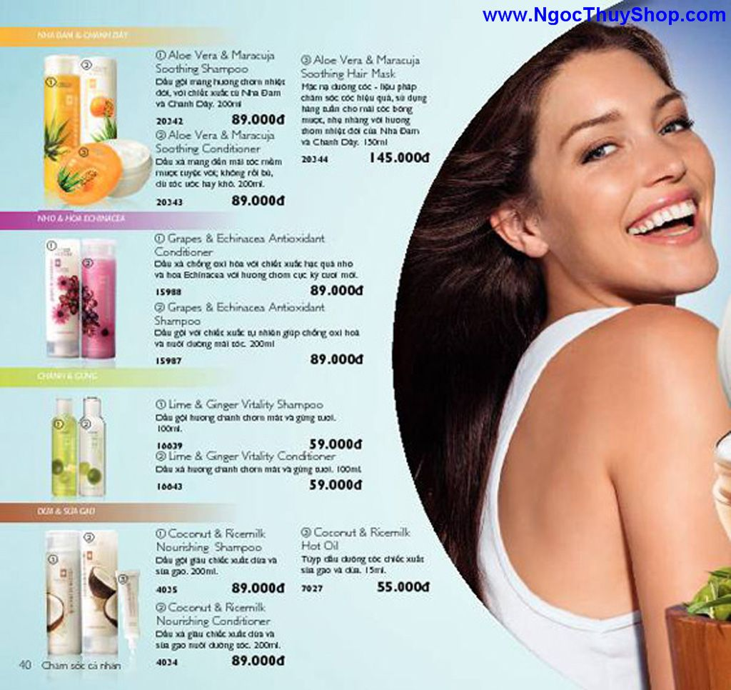 catalogue my pham oriflame 8 2011 040 Catalogue Oriflame tháng 8/2011 – MyPhamOriflame.vn