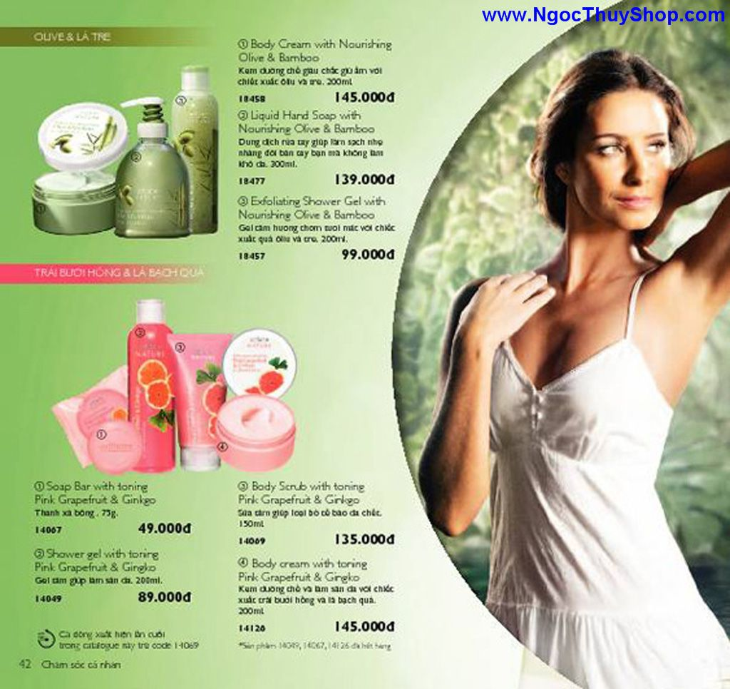 catalogue my pham oriflame 8 2011 042 Catalogue Oriflame tháng 8/2011 – MyPhamOriflame.vn