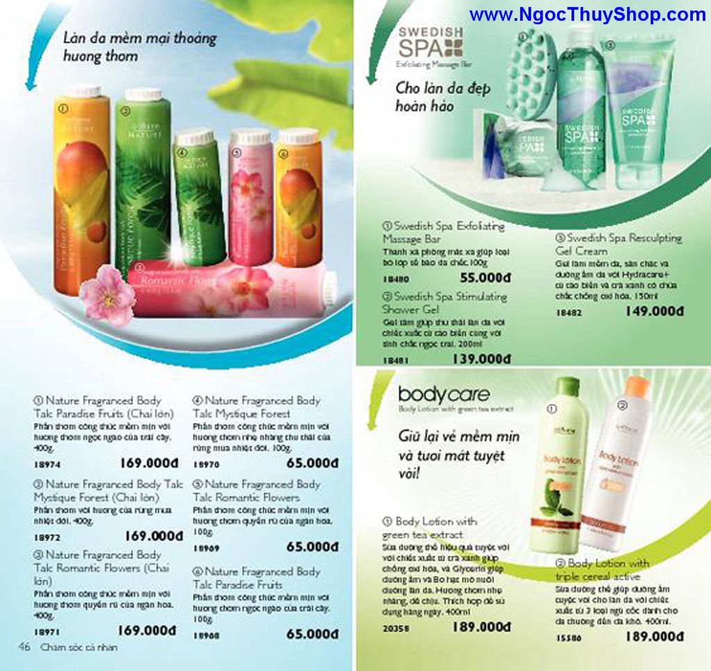 catalogue my pham oriflame 8 2011 046 Catalogue Oriflame tháng 8/2011 – MyPhamOriflame.vn