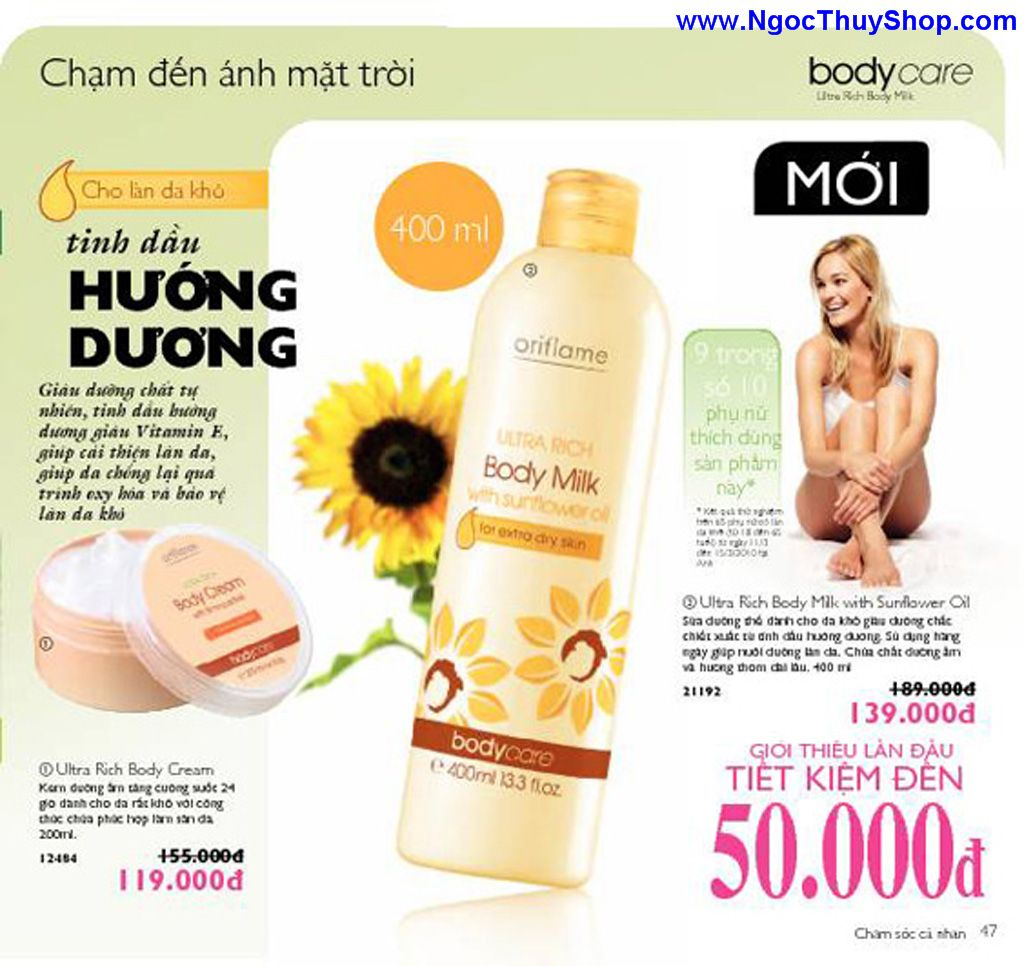 catalogue my pham oriflame 8 2011 047 Catalogue Oriflame tháng 8/2011 – MyPhamOriflame.vn