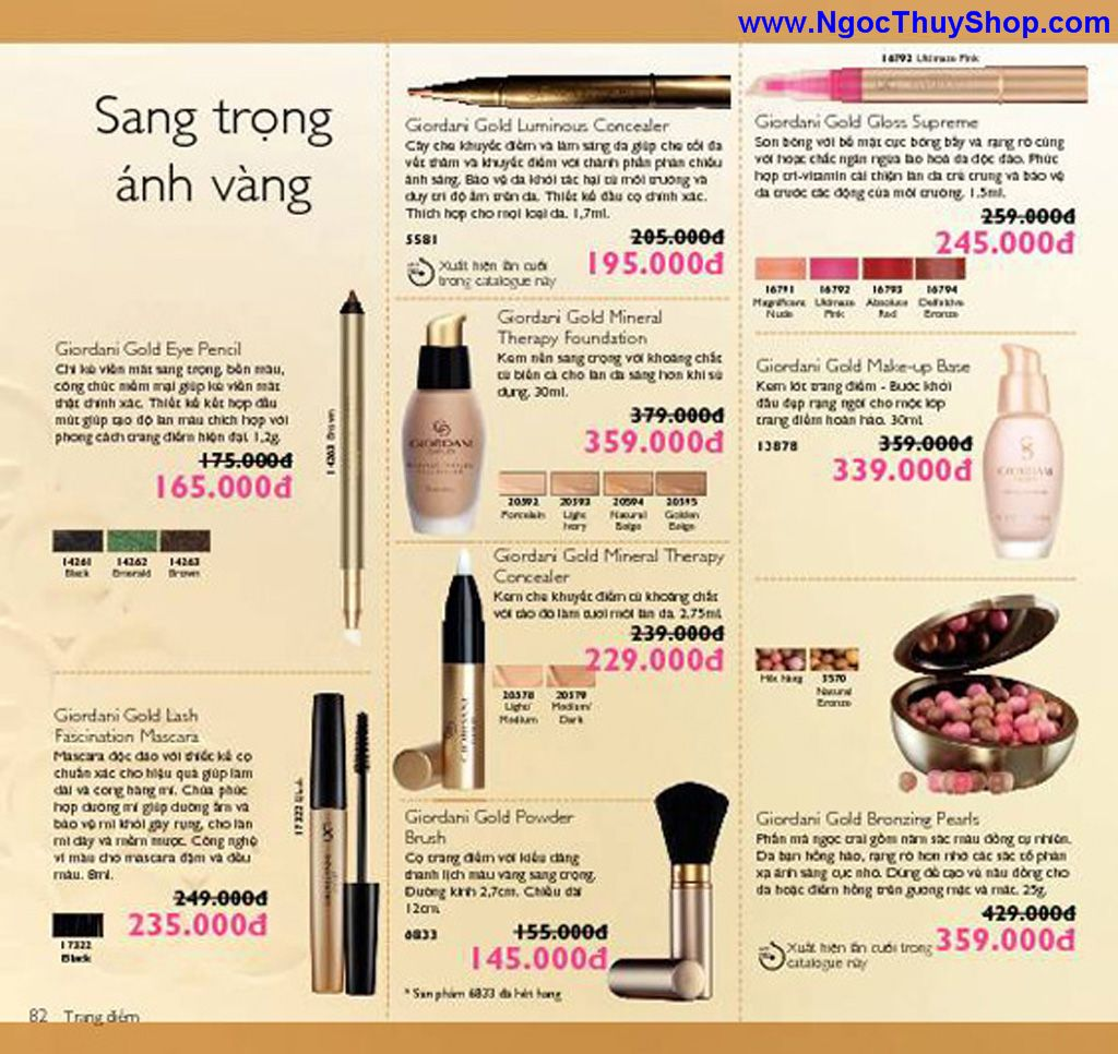 catalogue my pham oriflame 8 2011 082 Catalogue Oriflame tháng 8/2011 – MyPhamOriflame.vn