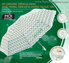 Oriflame White & Green Umbrella