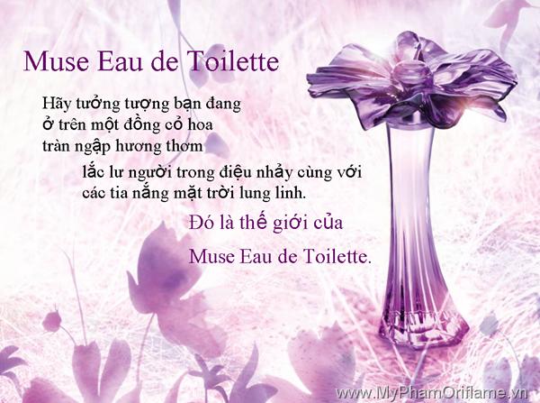 Nước hoa Muse Eau de Toilette