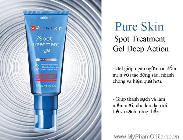 Pure Skin Spot Treatment Gel Deep Action