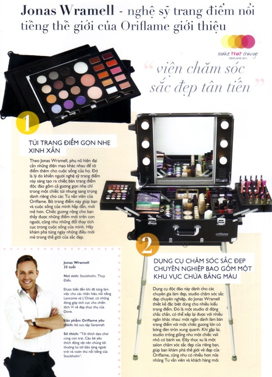 Oriflame Make That Change Beauty Station