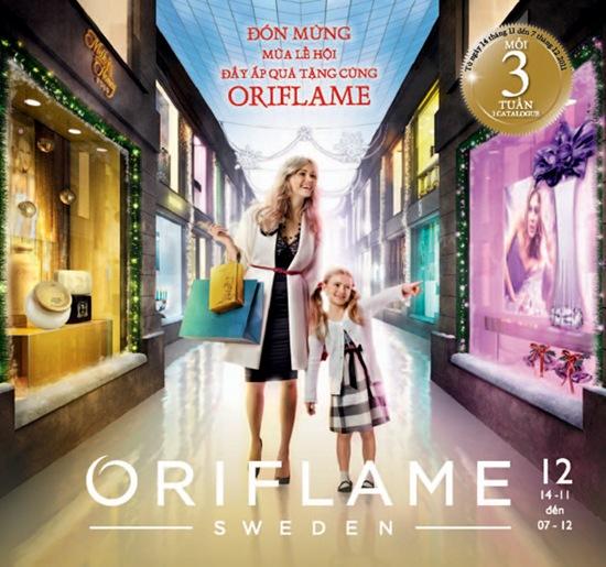 Catalogue Oriflame 12-2011: Đón Mừng Lễ Hội Với Đầy Ắp Quà Tặng