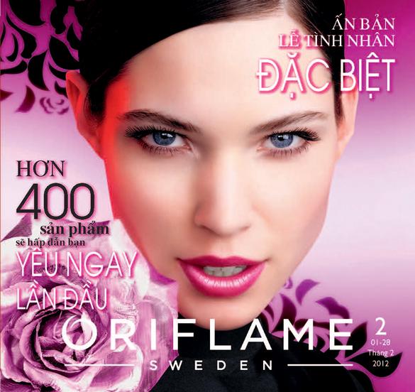 Catalogue Oriflame tháng 2/2012