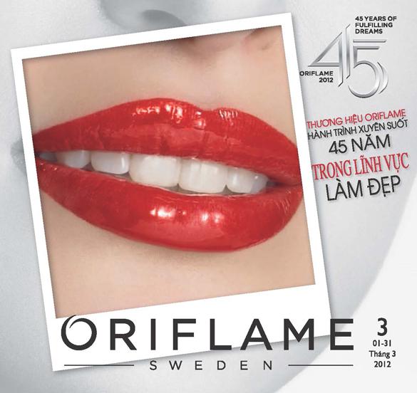 Catalogue Oriflame 3-2012: Khuyến Mãi 8-3